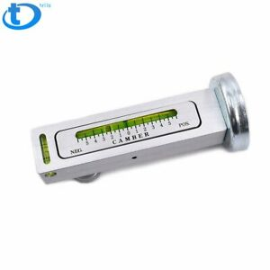 Adjustable Magnetic Gauge Tool Camber Castor Strut Wheel Alignment Truck Car