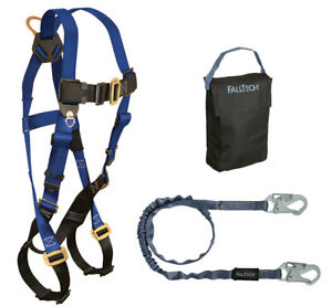 Falltech 9005ps Starter Kit With Harness And Lanyard