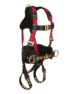 Falltech 7078bsm Tradesman Plus Belted Harness dual Size Small Medium