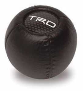 New Genuine Toyota Leather Trd Shift Knob Fits M12 X 1 25 Metric Tacoma 4runner