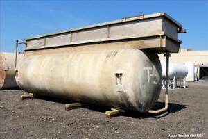 Used Enerfab Double Wall Pressure Tank 10 000 Gallons Carbon Steel Horizonta