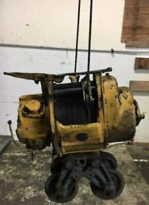 Ingersoll Rand Pneumatic Cable Air Hoist 3 Ton Size C Serial A26041