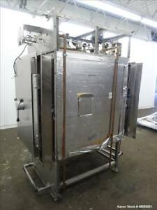 Used Beta Star Sterilizer Autoclave Model C2002bs 316l Stainless Steel Chambe