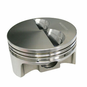 Howards Cams 841512306 Sbc Chevy 406 Flat Top Forged Pistons 3 750 Stroke 6 Rod