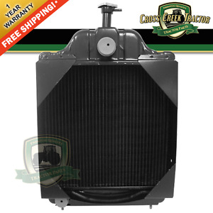 D89103 New Radiator Fits Case Tractor 580c Backhoe Loader