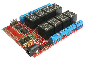 Eight Board Relay Bluetooth Android App Switch Arduino Digital Input Automation