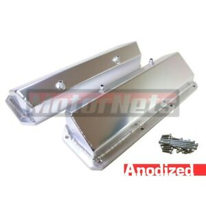 Ford 351c Cleveland 351m 400m Anodized Fabricated Aluminum Valve Cover Sbf Tall