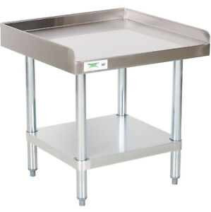 24 X 24 Stainless Steel Table Commercial Heavy Equipment Mixer Grill Stand Nsf