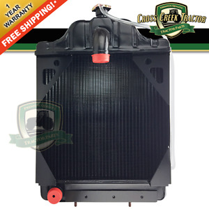 A39344 New Radiator For Case Tractor 430ck 480b 480ck 530ck 580b