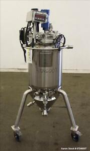 Used Bulling Metal Works Reactor 100 Liter 26 4 Gallons 316l Stainless Stee