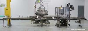 Used Consolidated Liquid Filler capper Capable Of Filling And Capping Maximum