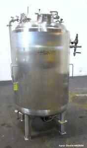 Used Apache Stainless Reactor 756 Liter 200 Gallon 316l Stainless Steel Ve