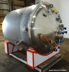 Unused Pure flo Precision Reactor 3 000 Liter 792 Gallons 316l Stainless St