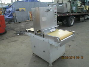 Jaccard Mdl Hord Ii Commercial Meat Flattening Machine Meat Press W conveyor