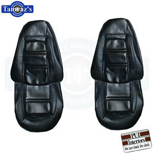 73 75 Firebird Deluxe Front Rear Seat Covers Upholstery Pui New