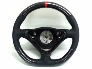 Porsche 996 986 T96 Steering Wheel With Carbon Conversion Boxster Turbo C4s
