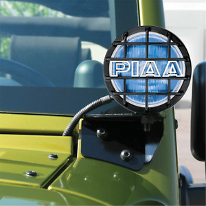 Piaa 540 Pillar Mount Vsk Driving Lights Pair For 2007 2018 Jeep Wrangler Jk