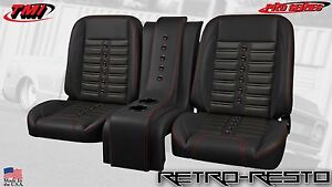 1967 87 Chevy Pickup Truck sport X Complete Bucket Seat Kit W Console