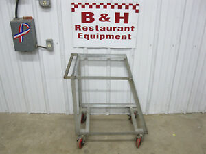 Wilder Mobile Bakery Bulk 18 X 26 Full Size Sheet Stack Pan Rack Cart