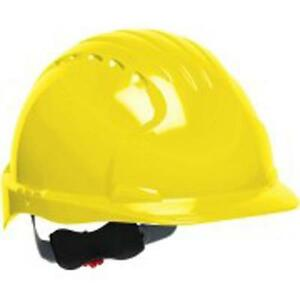 Safety Works Swx00369 Pro Cap Style Hard Hat Yellow 6 Pack