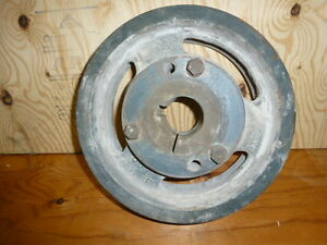 Used Q 5v 5 8 Belt 12 5 12 1 2 6 Groove Pulley Sheave With F 2 3 8 Bushing