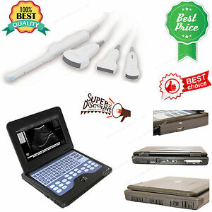 Usa Digital Ultrasound Scanner Portable Laptop Machine 2 Probes 3y Warranty ce
