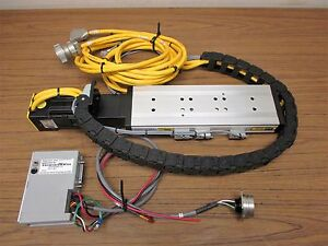 Parker 802 1611a Linear Slide Cm232be 01314b Compumotor And 770t Servo Drive