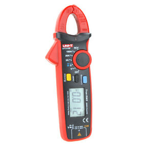 Uni t Ut210e True Rms Ac dc Current Mini Clamp Meters W Capacitance Tester