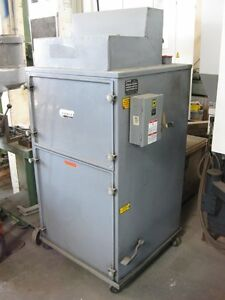 Torit Mdl 75 80 Cabinet Type Cartridge Dust Collector System 1hp 1000cfm