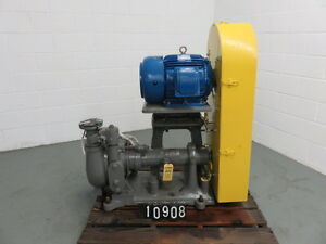 Wilfley Slurry Pump Size 4 X 2 Model 2k Material White Iron New