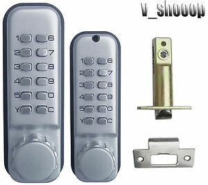 2thgenerationweatherproof Double sided Mechanical Combination Entrance Door Lock