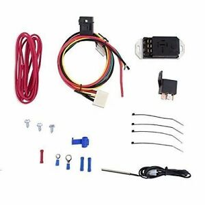 Mishimoto Adjustable Fan Controller Kit 1 8 Npt Temperature Sensor