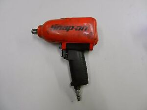 Good Condition Snap On Mg725 Red 1 2 Drive Impact Wrench Gun With Cover
