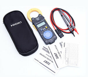 Hioki 3287 True Rms Clamp On Hitester 10a 100a Ac dc Clamp Meter