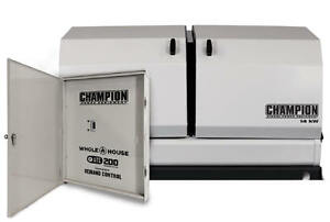 Champion 100294 14kw Standby Power Backup Generator Lp Propane Ng Ats Nema 3r