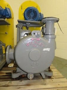 Wilfley Slurry Pump Size 4 X 2 5 Model 2 5k Material White Iron New