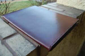 Handmade Full Grain Leather Padfolio Portfolio