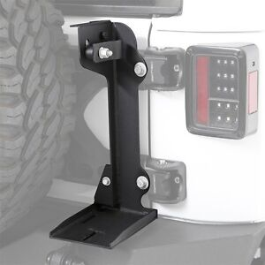 Smittybilt Trail Jack Mount For Pivot Tire Carrier For 07 18 Jeep Wrangler Jk