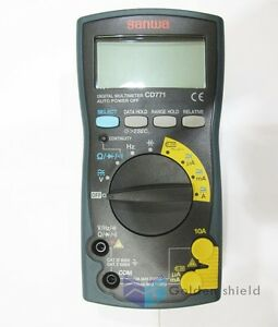 Sanwa Cd771 Digital Multimeters standard Type Backlight Cont Buzzer With Led