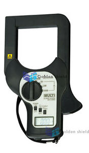 Digital multi mcl 800d Clamp Tester With 200ma 1000a 5ranges Ct 80mm Ct