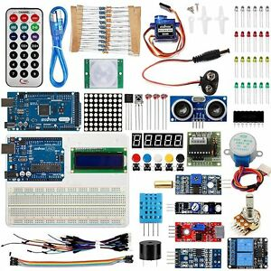 Usa Ultimate Starter Kit For Arduino Uno R3 Mega2560 Servo Seonsors Diy Projects