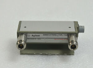 Hp agilent 8495h 001 Programmable Step Attenuator Dc To 18ghz 70dbm