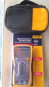 Fluke 117 Meter Electricians Hvac Multimeter New Sealed In Box From The Usa