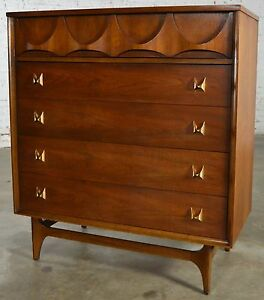 Mid Century Modern Broyhill Brasilia 6130 40 Chest Of Drawers