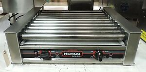 Nemco 8027 Commercial Hot Dog Roller Grill