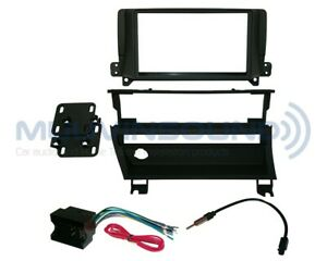 Radio Mounting Installation Dash Kit Double Din Wire Harness Antenna Bw52