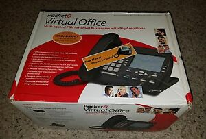 Packet8 St2118 Analog Business Telephone In Box Free Ship Used
