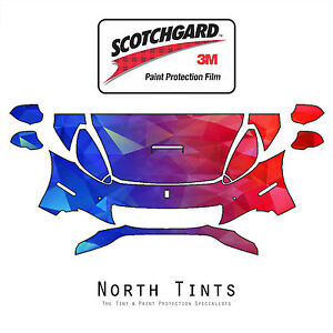 Ferrari California 2009 2014 Precut 3m Scotchgard Paint Protection Clear Bra Kit