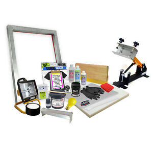 Diy Shocker 101 Press Screen Printing Starter Beginner Kit 11 4