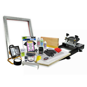 Diy X press Screen Printing Starter Beginner Kit 11 2
